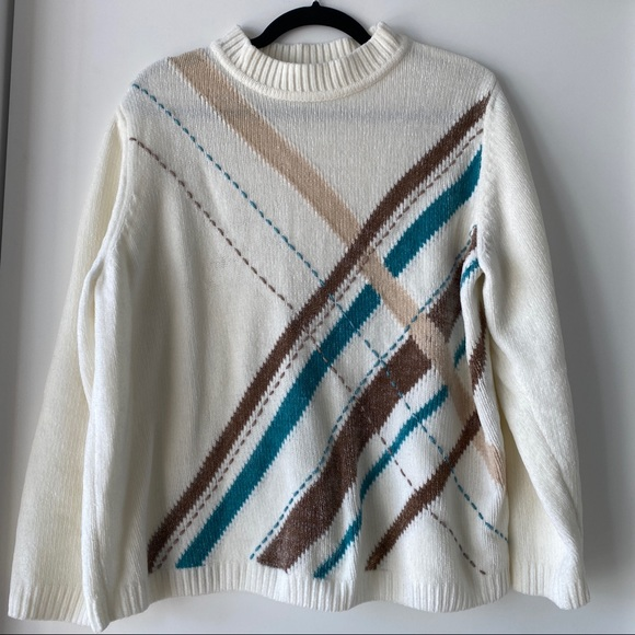 Alfred Dunner Cashmere Sweater